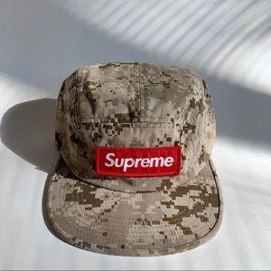 SUPREME TWILL DIGI CAMO CAP HAT
